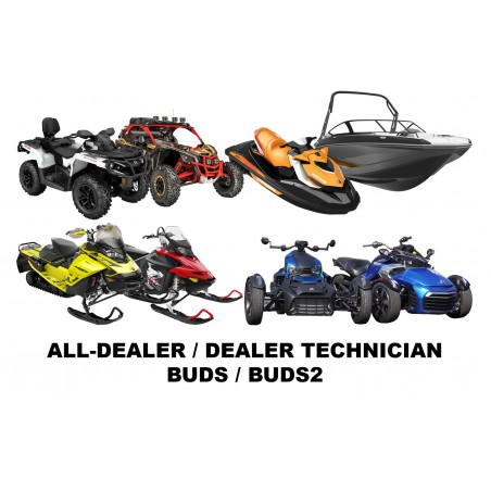 BRP BUDS / BUDS2 MPI-3 Diagnostic Kit 4-TEC/E-TEC